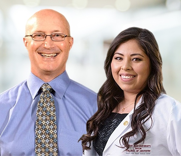 Center Texas dentists Dr. Youngblood and Dr. Martinez